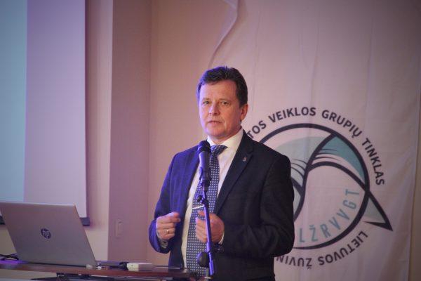 Dalyvauta Lietuvos žuvininkystės regionų vietos veiklos tinklo organizuotoje tarptautinėje konferencijoje